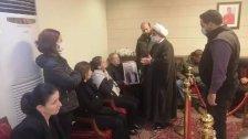 وفد من حزب الله يزور بشري لتقديم واجب العزاء بـ جوزيف طوق