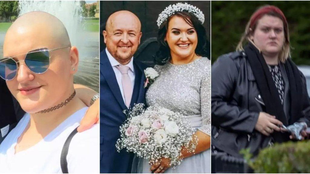 بالصور/ امرأة تدعي إصابتها بالسرطان لتجمع آلاف الدولارات من التبرعات وتقيم حفل زفاف أحلامها!