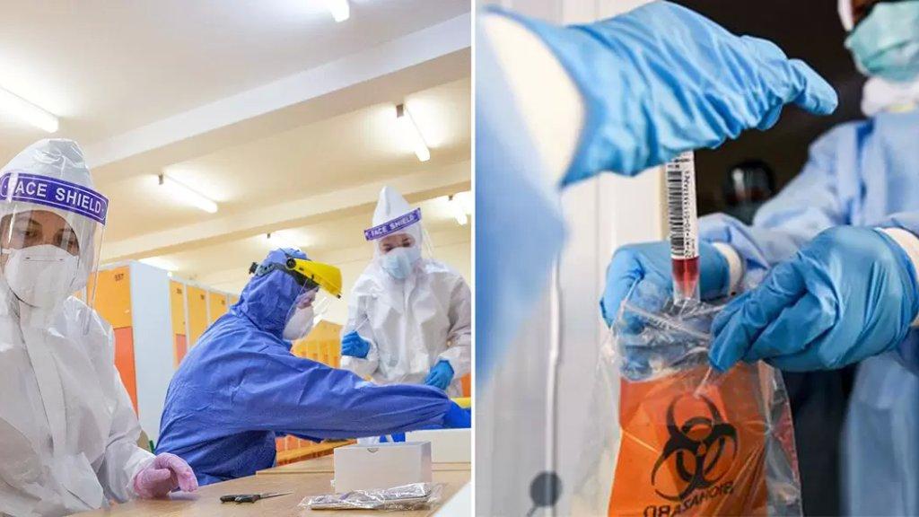 لتكون بأمان، خدمة فحص الـ PCR من بيتك عالمختبر..Nurse Home Care نتيجة مضمونة من أهم المختبرات وخدمات التمريض متوفرة لبيتك 24/24