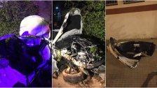 بالصور/ حادث سير مروع فجر اليوم على اوتوستراد الكرنتينا: سيارة اصطدمت بشاحنة... ووفاة فتاة وانتشال اثنتين على قيد الحياة