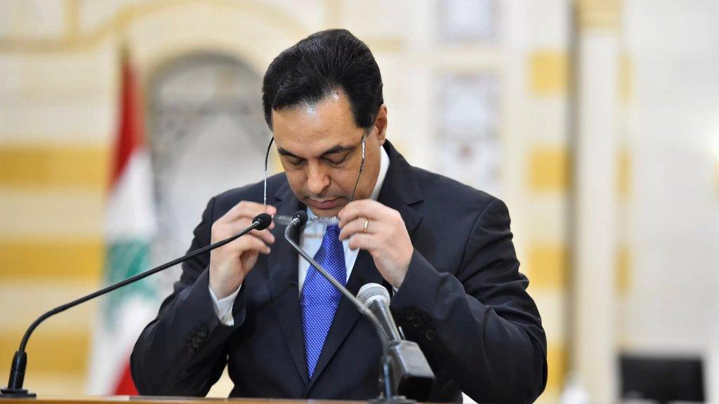 حسان دياب: وصلتني 3 معلومات مختلفة على مدى ساعتين وخلال 20 اجتماعاً للمجلس الأعلى للدفاع لم يرفع أحد يده ليُبلغ عن وجود النيترات وهم يعرفون