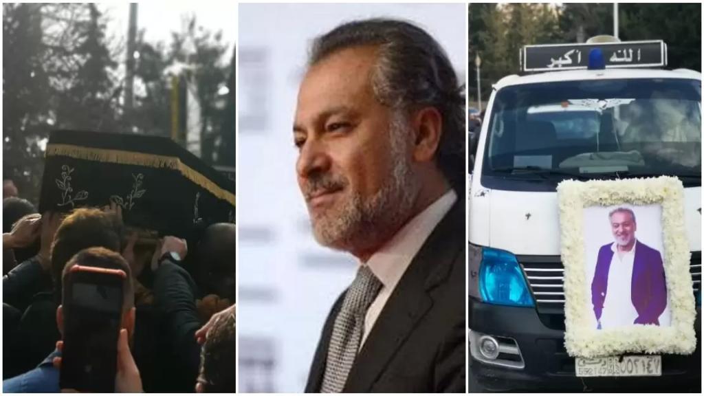 بالصور/ تشييع الفنان والمخرج السوري الراحل حاتم علي إلى مثواه الأخير بدمشق