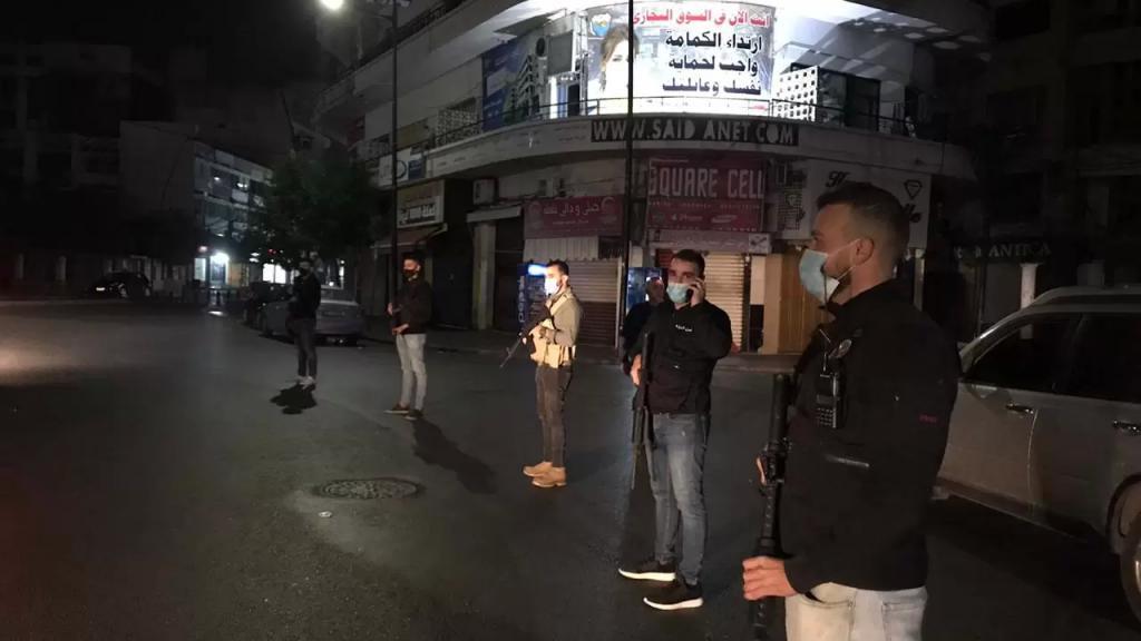 دوريات وحواجز لأمن الدولة في صيدا ضمن الإجراءات الأمنية والوقائية لمناسبة ليلة رأس السنة