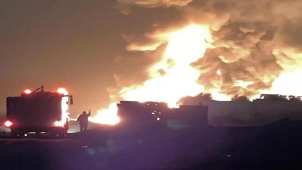 بالفيديو/ إنفجار الأمس في منطقة القصر ناجم عن فلتان التهريب والتجارة غير الشرعية في نقل وتخزين المحروقات عبر الحدود (LBCI)