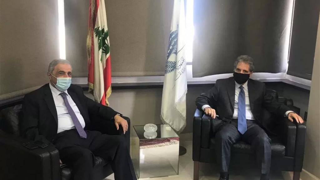 وزني يوقع عقد تخصيص عقار لصالح وزارة الصحة الذي سيشيّد عليه مبنى مستشفى خليفة بن زايد - شبعا الحكومي