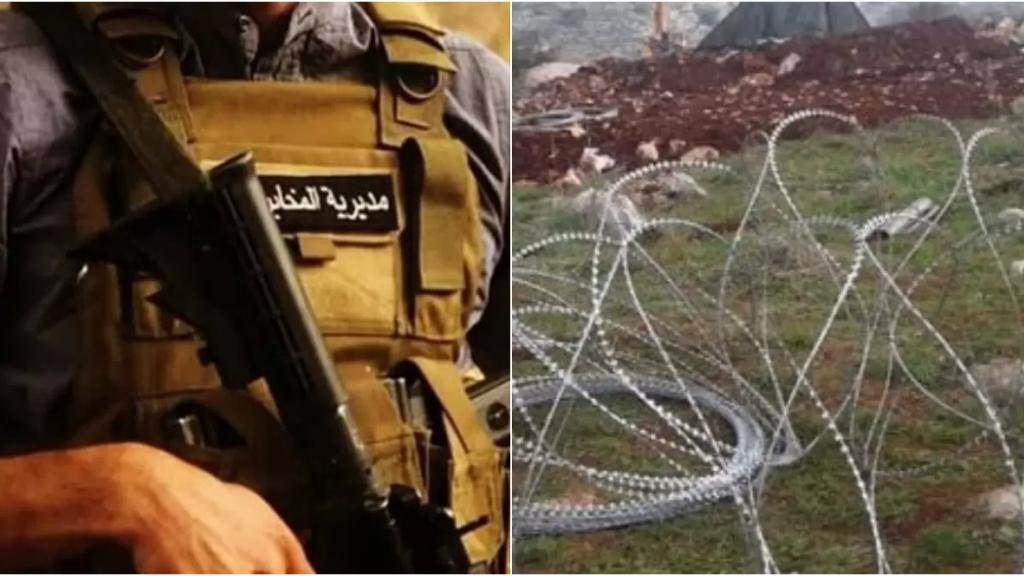 مخابرات الجيش توقف 5 أشخاص لإقدامهم على سرقة أوتاد وأسلاك شائكة تستخدم لتسييج حقول الالغام في خراج ميس الجبل