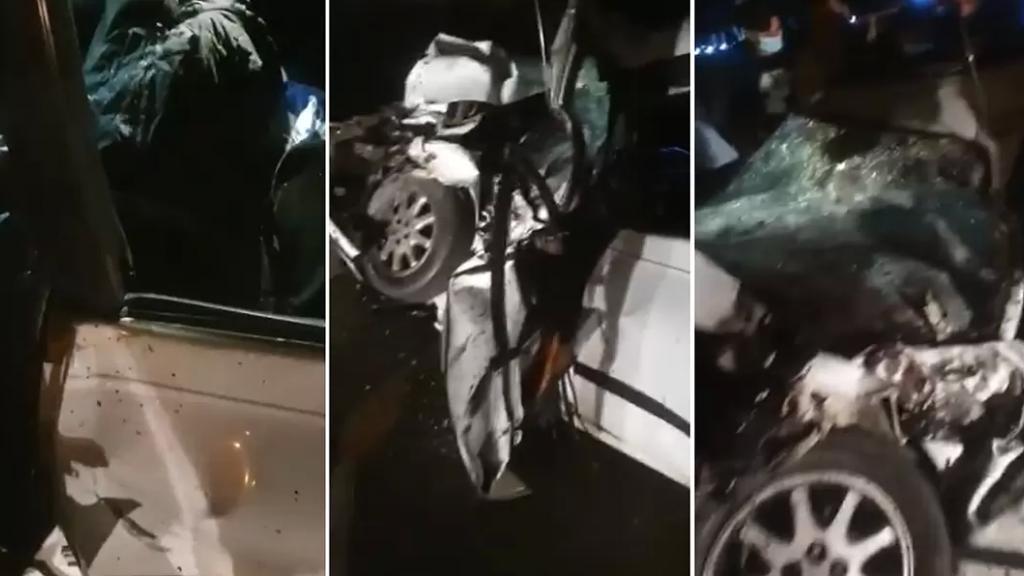 مقتل شخص في حادث سير مروع بين عدة سيارات على اتوستراد الدامور باتجاه الجنوب