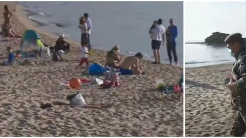 """ممارسة السباحة في """"عزّ"""" كانون الثاني...محاضر ضبط لمواطنين مارسوا السباحة على الشاطىء الرملي في مدينة جبيل خلافاً للتعبئة!"""