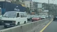 بالفيديو/ زحمة سير على أوتوستراد جونية بسبب حاجز لقوى الأمن الداخلي