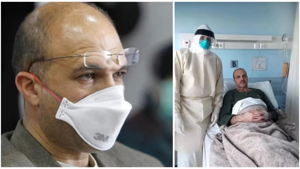 مستشفى سان جورج الحدت: الوضع الصحي للوزير حسن جيد ويمارس نشاطه وعمله من غرفته في المستشفى
