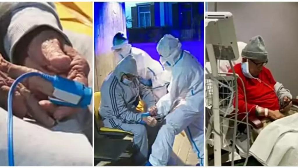 بالفيديو/ مشهد المستشفيات مُبكي... مرضى يعالجون في خيم وهنغارات وآخرون ينامون ويصحون على كرسي بانتظار شغور سرير