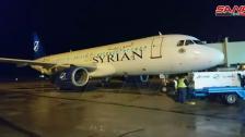 في أول رحلة بين المطارين.... طائرة سورية إنطلقت من مطار حلب حطّت في مطار بيروت الدولي!