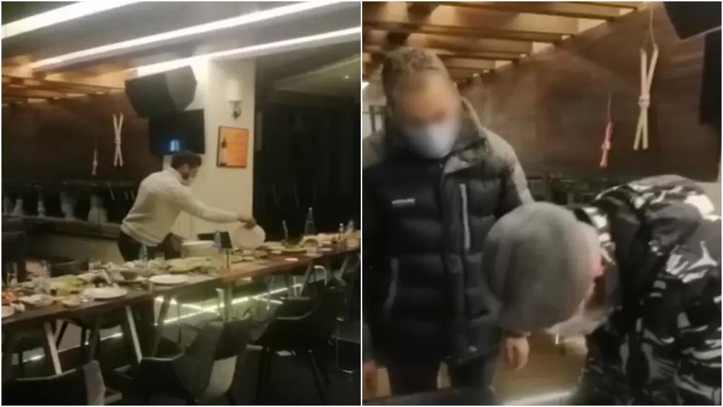بالفيديو/ مطعم في كفردبيان يستقبل زبائن على العشاء ويبقي الأنوار مطفأة للإلتفاف على قرار الإقفال وقوى الأمن تتحرك!