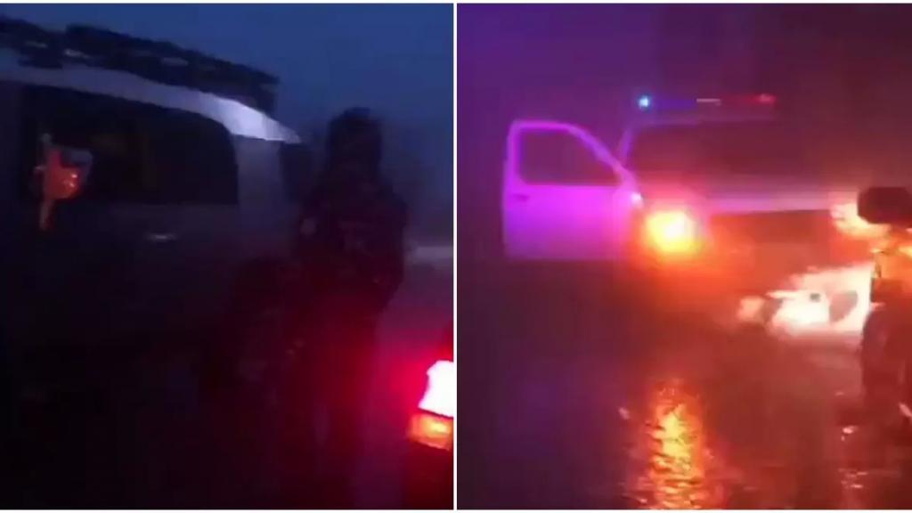 بالفيديو/ اشخاص على متن سيارات رباعية يمارسون هواية الـOFF- ROAD في صنّين... وقوى الأمن تنظم محاضر بحقهم لمخالفتهم قرار الاقفال العام