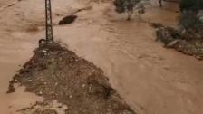 بالفيديو/ تشكل للسيول في عيتا الشعب جراء الأمطار الغزيرة
