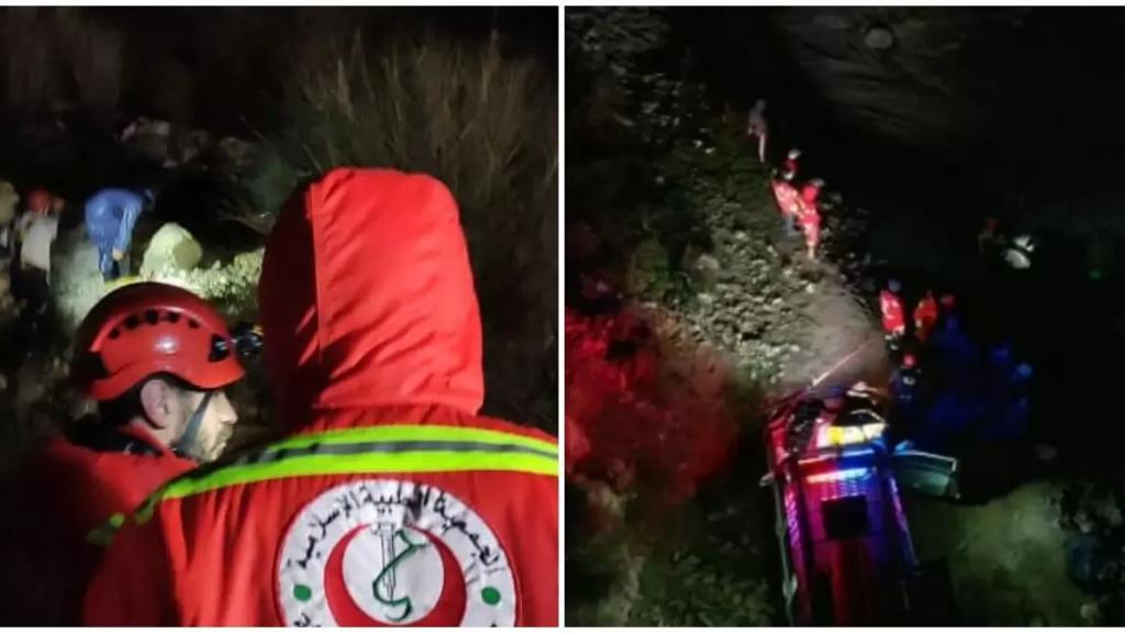 بالصور/ سيل جرف عائلة مكونة من أب و5 اولاد في وادي أميون.. وجهاز الطوارئ والإغاثة يستجيب: تم العثور على الأولاد فيما لا يزال البحث جارٍ عن الأب!
