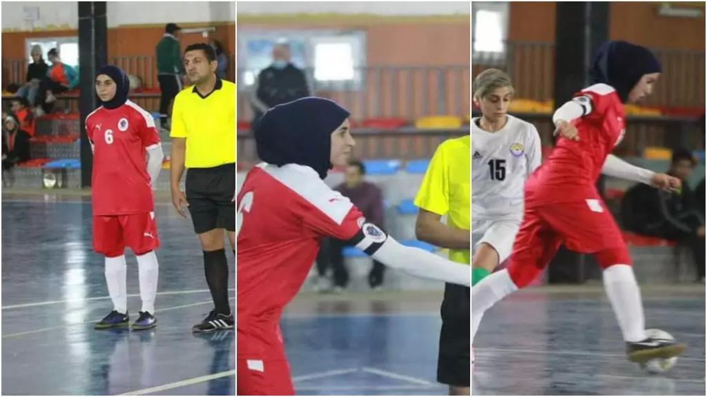 اللاعبة اللبنانية ريان رشيد تحترف في الدوري العراقي