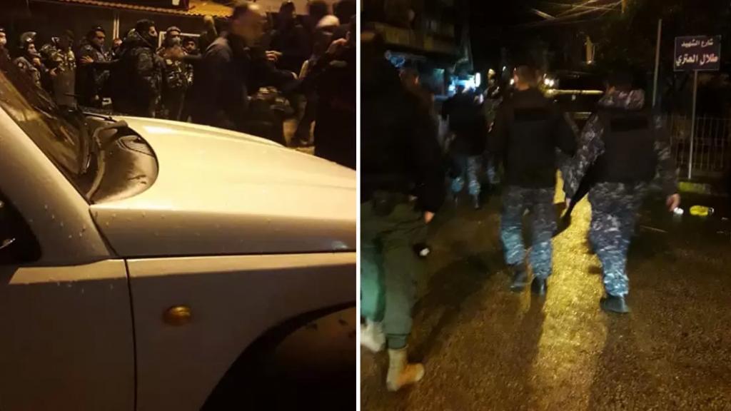 قوى الأمن تغلق مقاهٍ مخالفة لقرار الإقفال في مدينة طرابلس