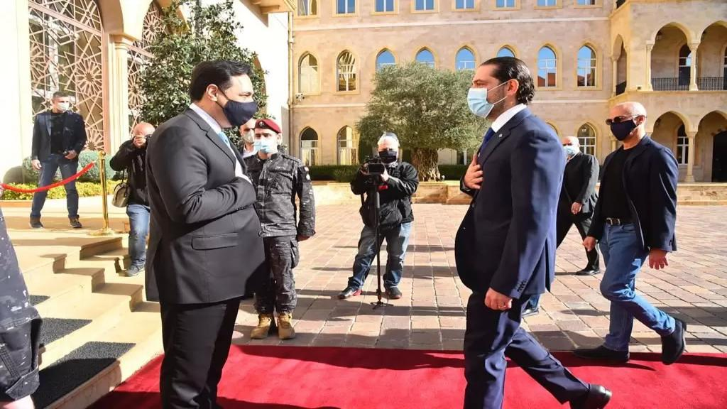 رئيس الحكومة المستقيلة حسان دياب سيزور الرئيس المكلف سعد الحريري بعد ظهر اليوم (مستقبل ويب)