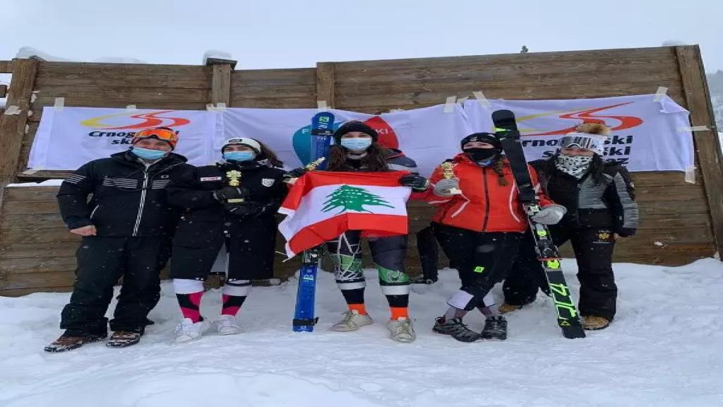 لبنانيتان بطلتان في التزلج الألبي...حصدتا المركز الأول في البطولة بمشاركة 10 دول