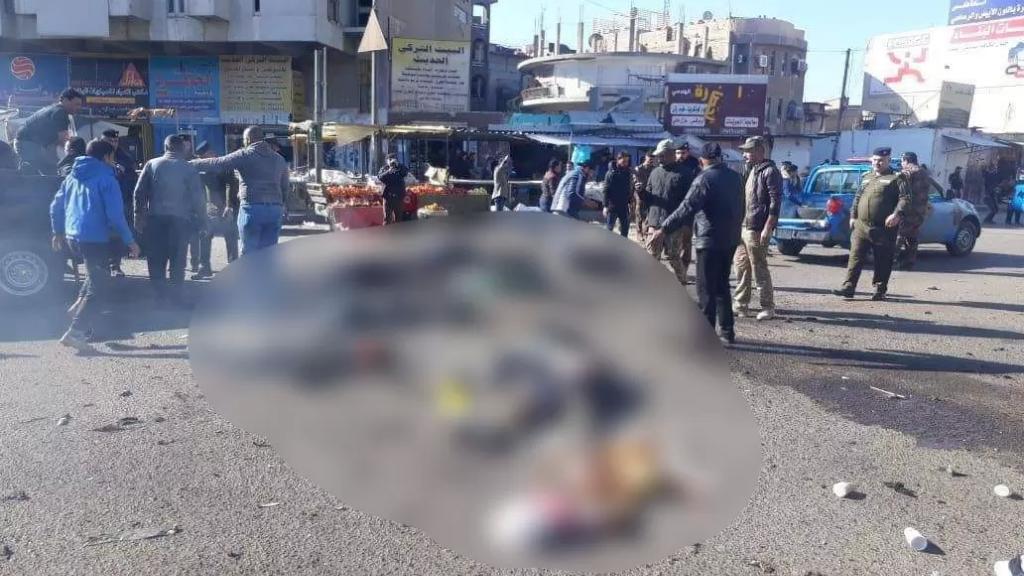 انفجاران مزدوجان في السوق الشعبي في بغداد يوديان بـ12 ضحية وأكثر من 25 جريح