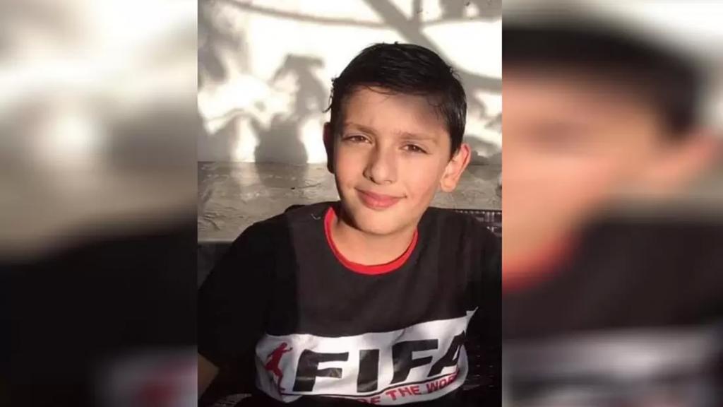 شكر على تعزية من عائلة الفقيد الطفل علي حسين حمود