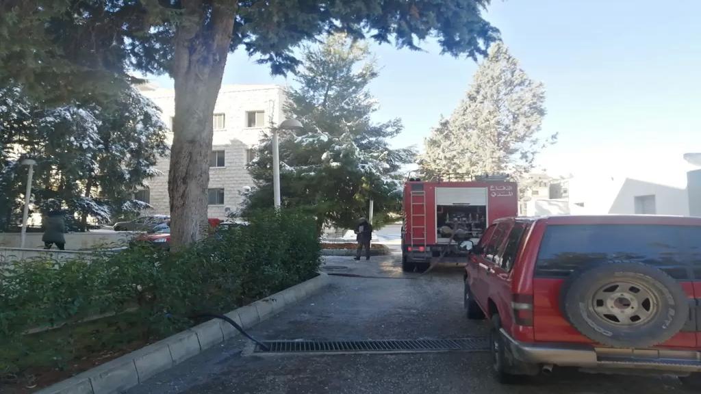 حريق شب في قسم الصيدلة في مستشفى بعلبك الحكومي