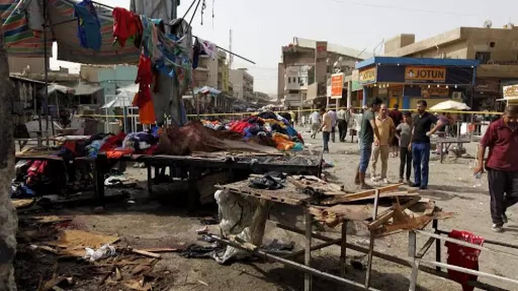 وزير الصحة العراقي: إرتفاع حصيلة ضحايا التفجير المزدوج في بغداد الى 32 شهيداً و110 جرحى