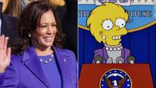 """الـCNN: مسلسل """"The Simpsons"""" يُصيب مرة أخرى عبر توقع جزء من حفل تنصيب بايدن"""