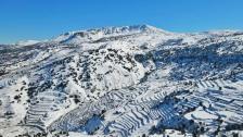 جبال عكار مساحة رحبة للسياحة البيئية والثلوج أكسبتها ميزة خاصة