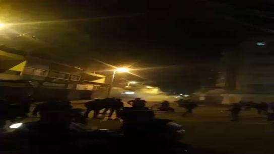 بالفيديو/ المشهد في الشوارع الفرعية لساحة النور في طرابلس
