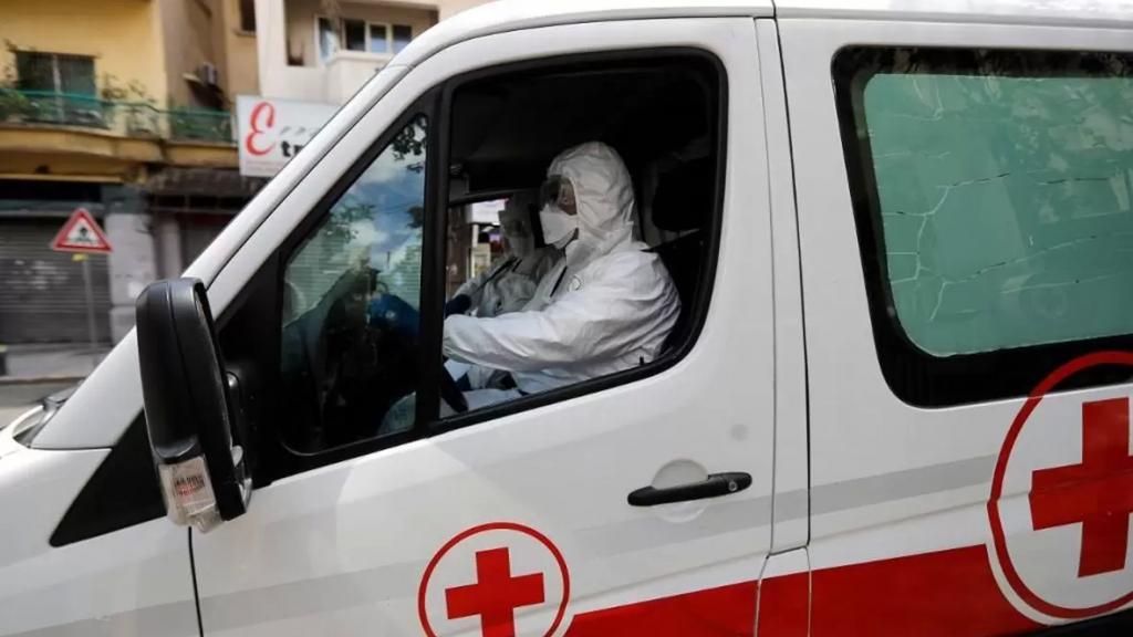 الأمين العام للصليب الاحمر عن مصابي كورونا: هناك 29 حالة كانت غائبة عن الوعي في المنزل بشكل كامل و1303 أشخاص كان لديهم ضيق نفس و63 شخصاً كانت حالتهم خطرة جدا ونقلوا للمستشفى