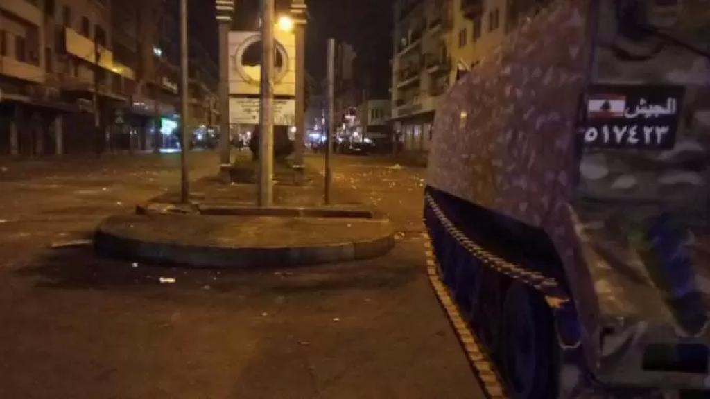 الوضع هادئ في طرابلس بعد دخول الجيش اللبناني إلى ساحة النور (الجديد)