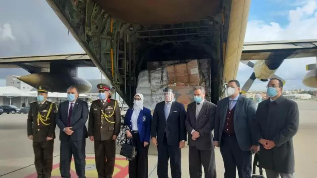 الوكالة الوطنية: وزيرة الصحة والسكان المصرية وصلت إلى مطار بيروت لتسليم المساعدات المصرية الى الدولة اللبنانية
