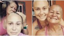 بالفيديو/ في مشهد مؤثر.. أم تتضامن مع ابنتها المصابة بالسرطان بحلاقة شعرها