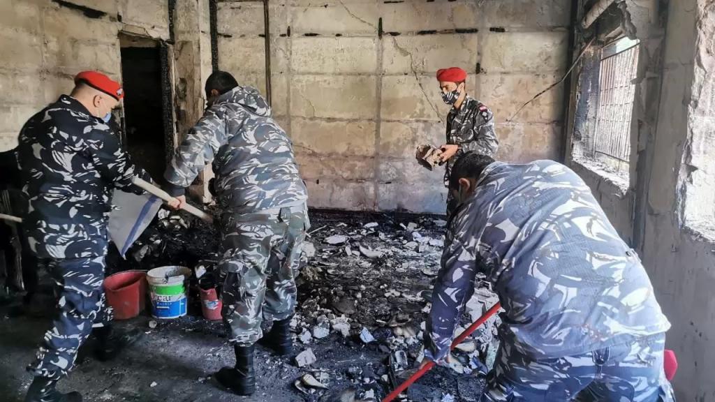 بالفيديو/ قوى الأمن تنشر حصيلة الاعتداءات التي حصلت ليل أمس على سراي طرابلس