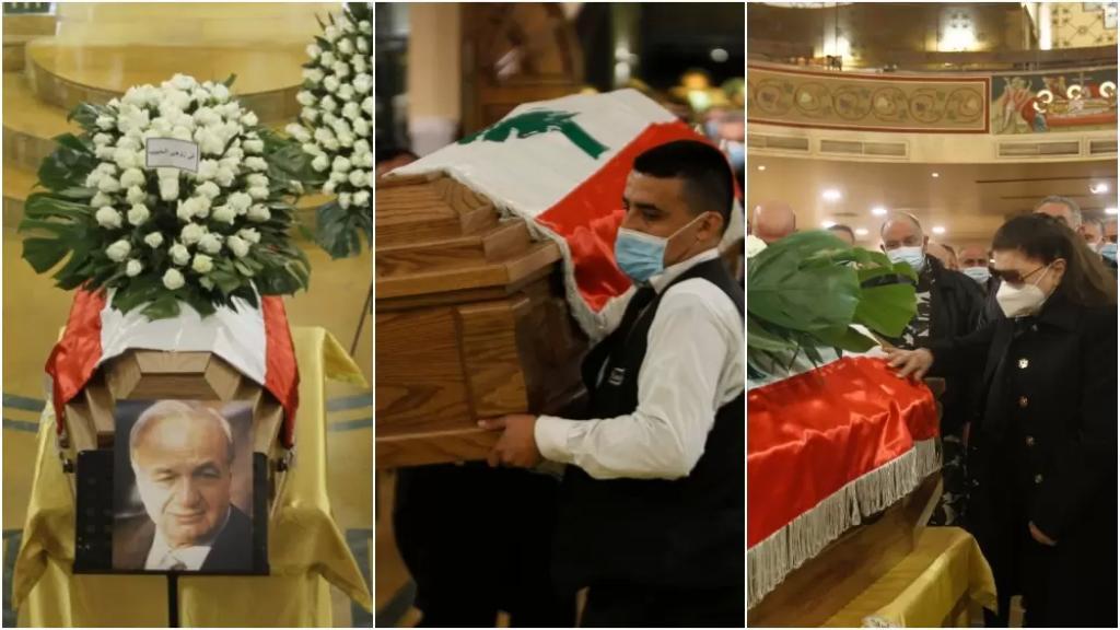 بالصور/ الوداع الأخير لدولة الرئيس ميشال المر