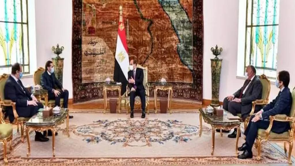 السيسي للحريري: لإعلاء المصلحة الوطنية وتسوية الخلافات وتشكيل حكومة مستقلة قادرة على التعامل مع التحديات