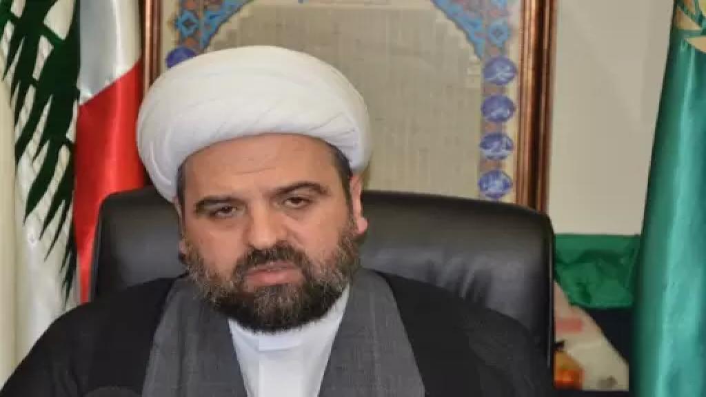 """المفتي أحمد قبلان: """"الخائن ليس من يسرق ليأكل بل من سرق ودائع الناس ونهب البلد وموارده وحول القطاع العام إلى كعك وجبنة وصفقات أو رشوة انتخابية"""""""