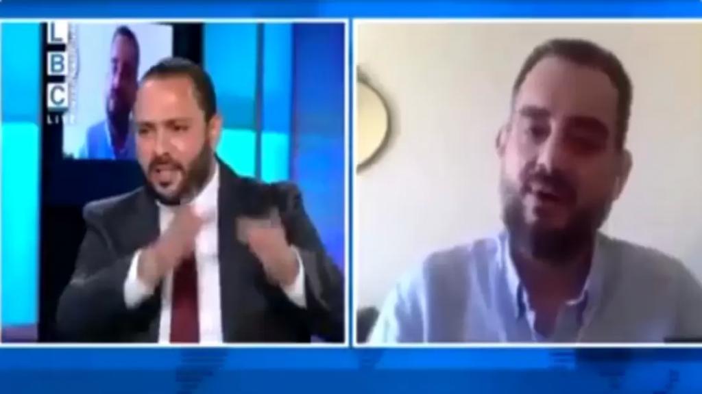 بالفيديو/ الباحث السياسي مكرم رباح يخرج عن طوره ويأتيه الرد من الصحافي علي حجازي