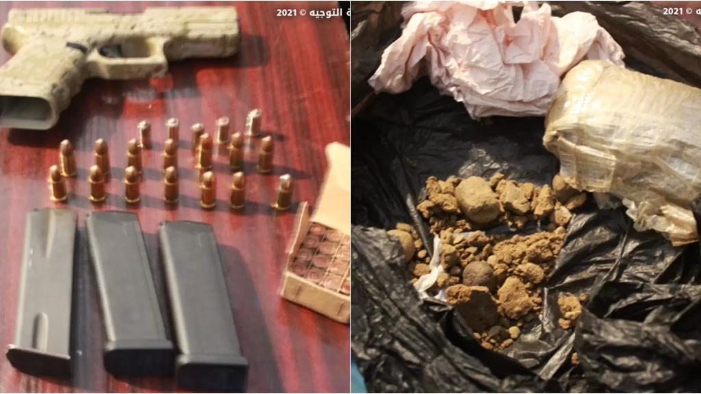 الجيش اللبناني: توقيف 13 شخصاً في أبي سمرا- طرابلس على خلفية إطلاق نار من أسلحة حربية وضبط بحوزتهم مسدسان حربيان وكمية من حشيشة الكيف