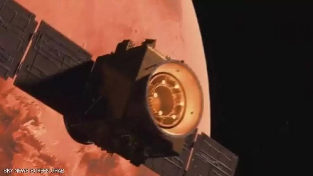 """نجاح وصول """"مسبار الأمل"""" إلى مدار كوكب المريخ لتصبح الإمارات خامس دولة في العالم تصل إليه"""