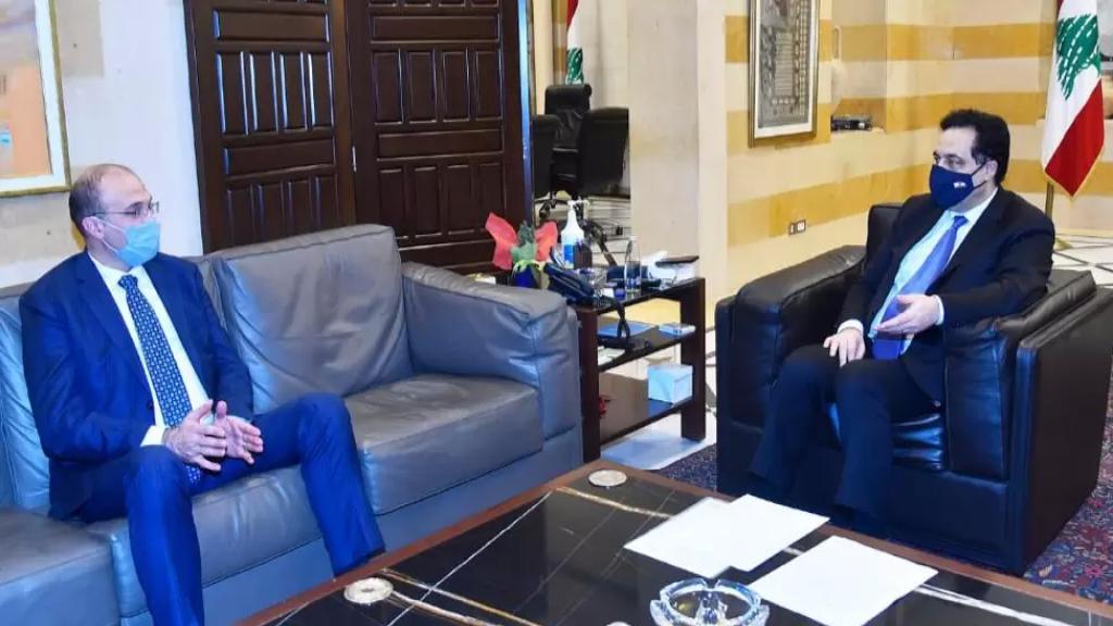 """لقاء بين الرئيس دياب ووزير الصحة..""""الدفعة الأولى من اللقاحات ستصل السبت وحملة التلقيح ستنطلق الأحد من السرايا الحكومية"""""""