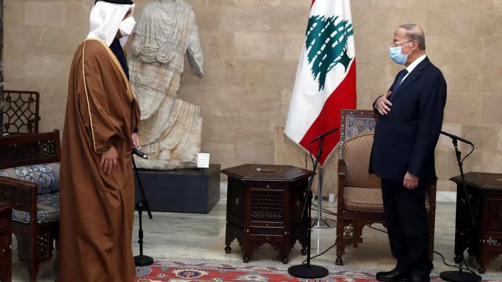 الرئيس عون خلال استقباله وزير الخارجية القطري: نقدر التسهيلات وفرص العمل التي تقدمها قطر للبنانيين الموجودين فيها
