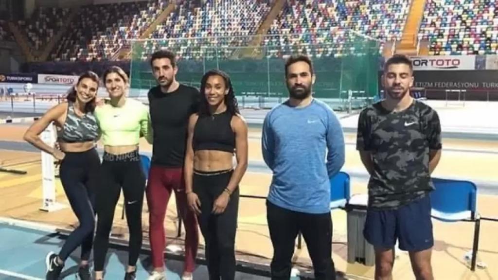أرقام قياسية لبنانية في بطولة تركيا داخل الصالات لألعاب القوى