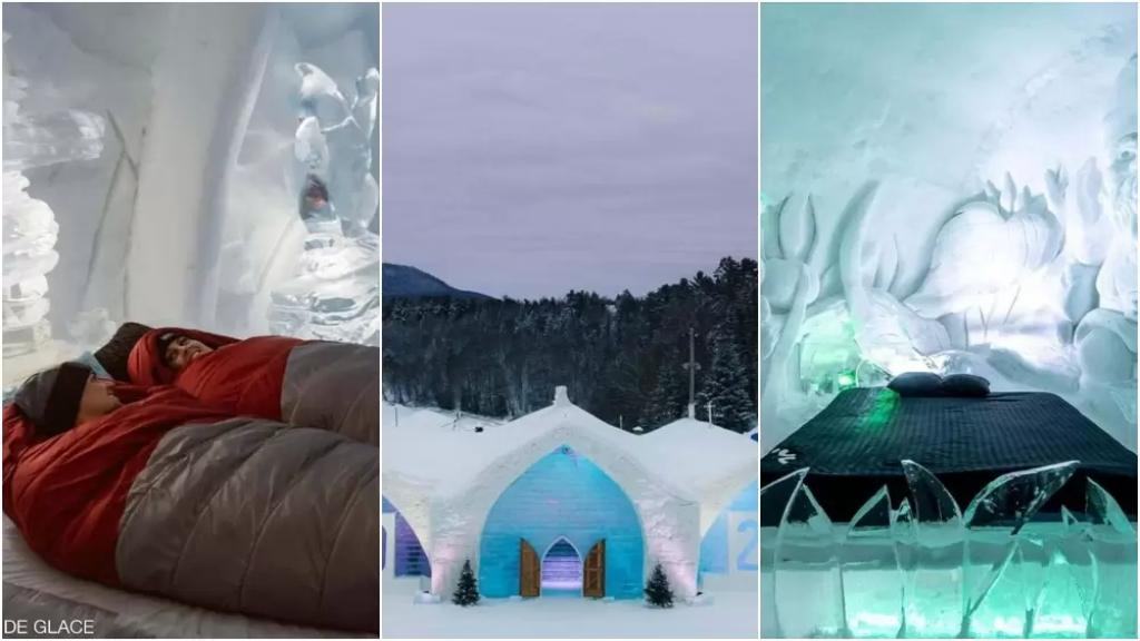 لمحبّي الأجواء الشتوية.. فندق ساحر شُيّد بالكامل من الثلج والجليد