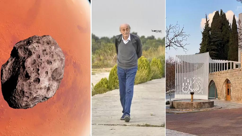 جنبلاط: كويكب الثلث المعطل المرسل من زحل يكره لبنان والإنسان!