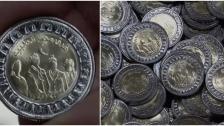 """بالصور/ مصر تُصدر 15 مليون قطعة عملة نقدية تحمل عبارة """"فرق مصر الطبية"""" تكريماً للكوادر الصحية وجهودها بمكافحة كورونا"""