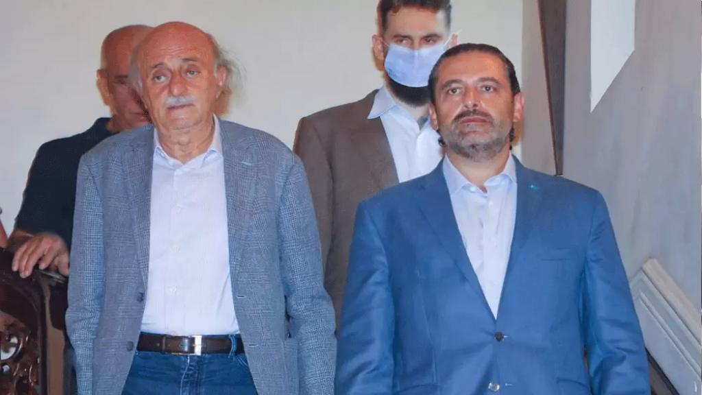 جنبلاط: هناك اليوم حاكم مدمر وحكم عبثي... أنا إلى جانب الحريري