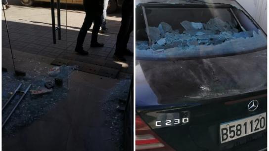شبان أطلقوا النار ليلاً في بعلبك من أسلحة رشاشة بإتجاه محلّين تجاريين وسيارة يملكهما عضو المجلس البلدي للمدينة بلال حليحل